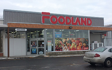 Foodland - Complete renovation and relocation of deli (Ingleside, Ont)