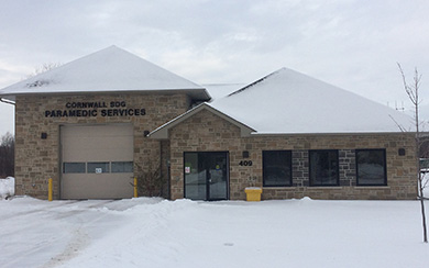 South Stormont EMS Building - plumbing & hydraunic infloor heating (Long Sault, Ont)