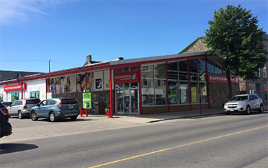 Shoppers Drugmart (new location) - Complete plumbing (Prescott, Ont)